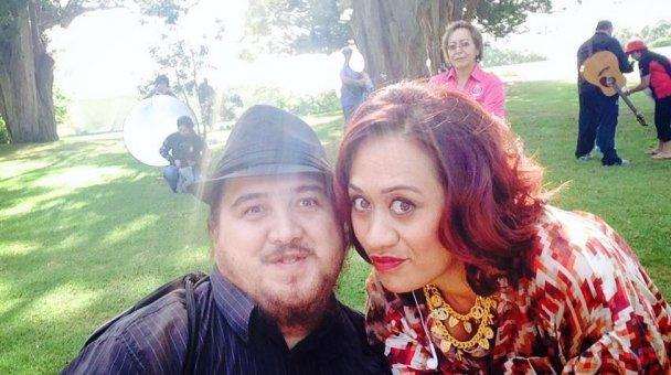 Selfie: Miss Kihi raua ko Happy anō
